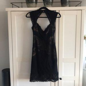 Nicole Miller lace cocktail dress